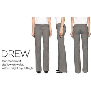 The Limited Drew Fit Pants. 12 Long! Flared. White